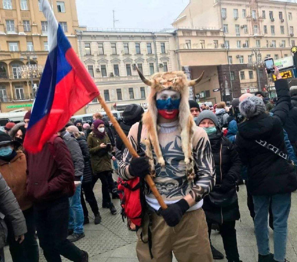 Rusya nın doğu kentlerinde 'Aleksey Navalnıy' protestoları başladı #2