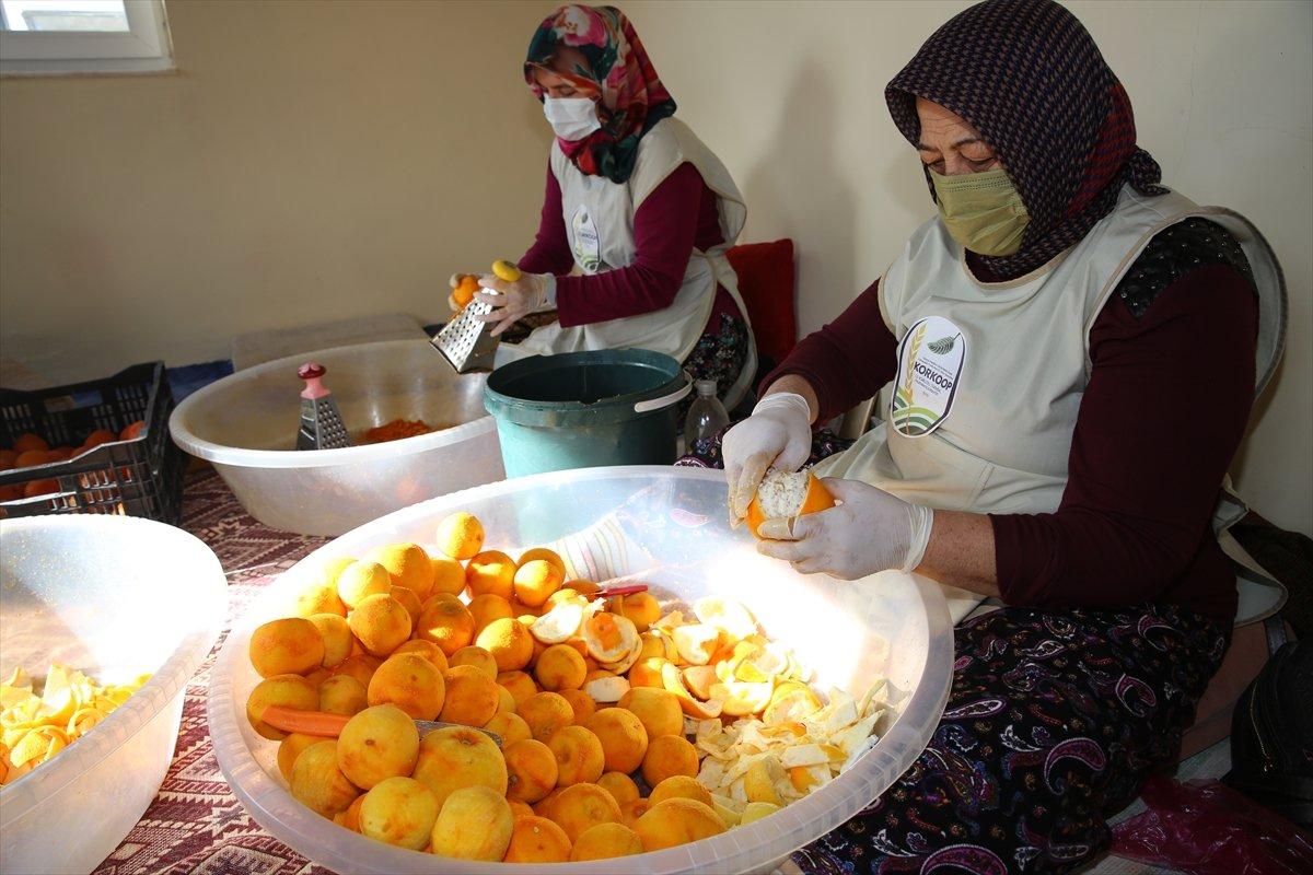 Antalya nın simgesi turunçlar sofraları süsleyecek #3
