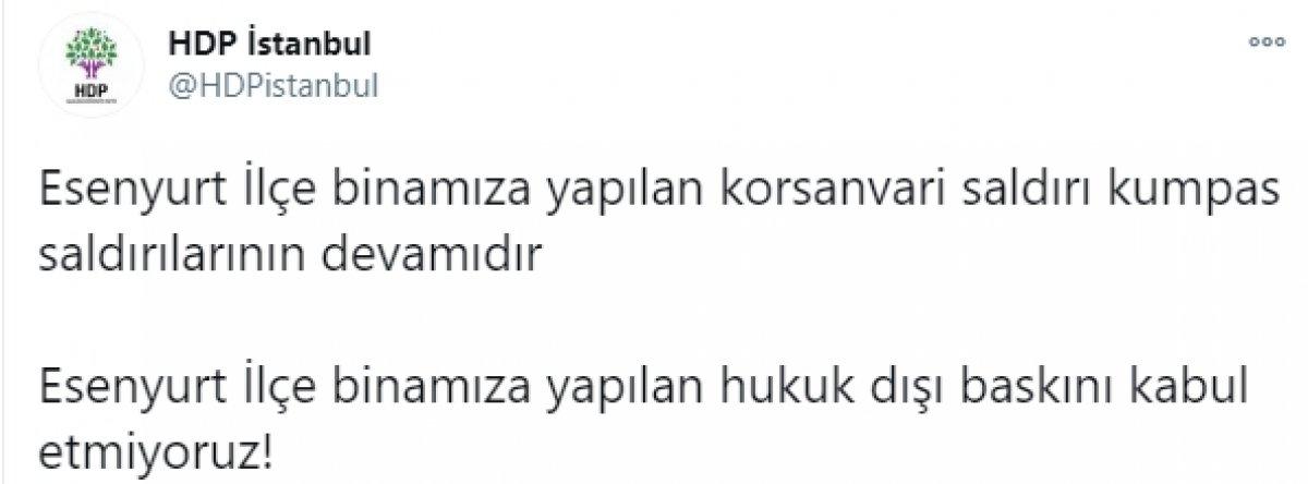 HDP den Esenyurt açıklaması: Her türlü hukuki işleme başvuracağız #2