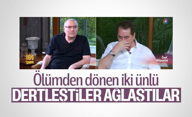 İbrahim Tatlıses ile Mehmet Ali Erbil'in duygusal söyleşisi