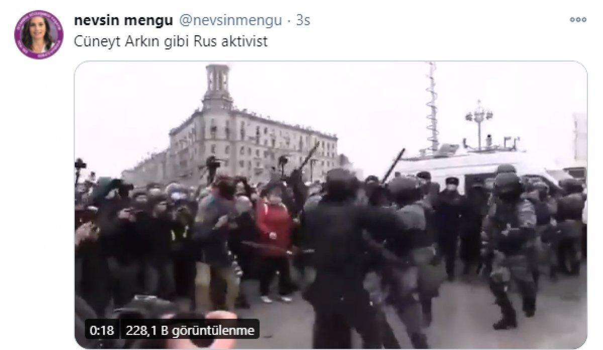 Cüneyt Arkın'dan Nevşin Mengü'ye: Askerime polisime saldırmam  #1