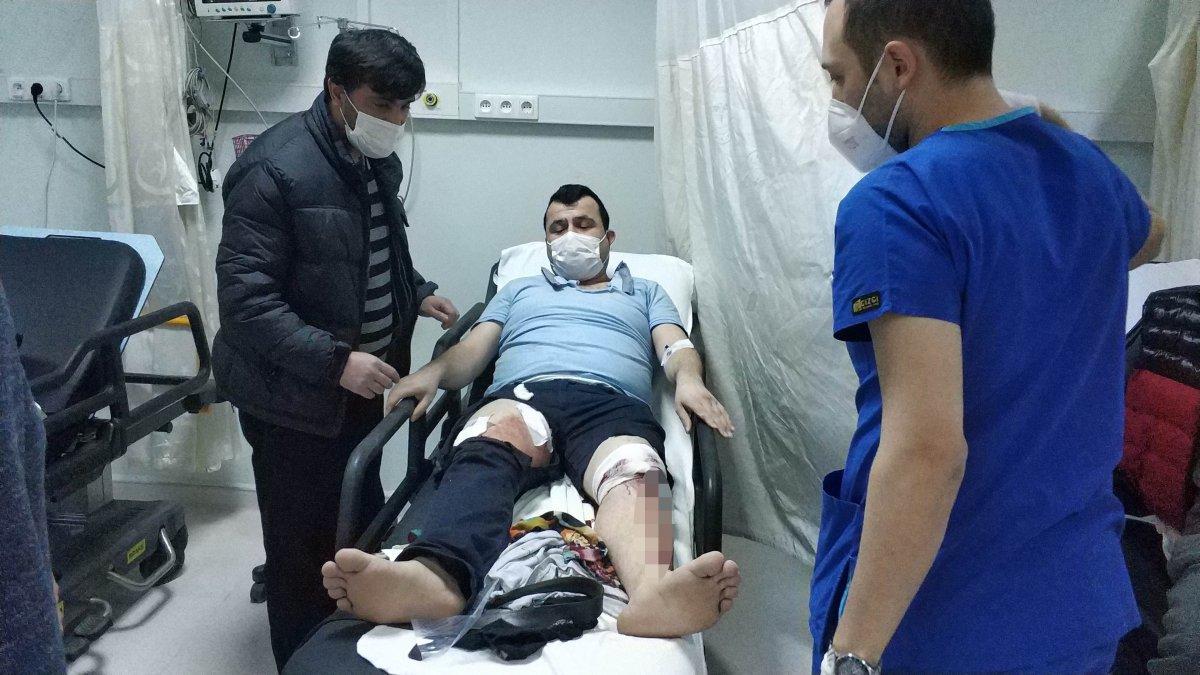 Samsun da komşuların kavgasında 5 kişi hastanelik oldu #3