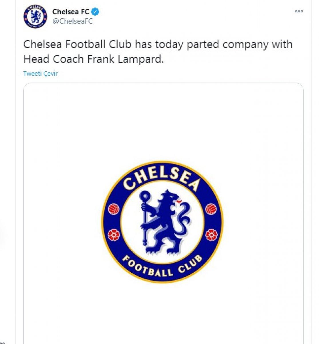 Chelsea, Frank Lampard ile Yollarını Ayırdı