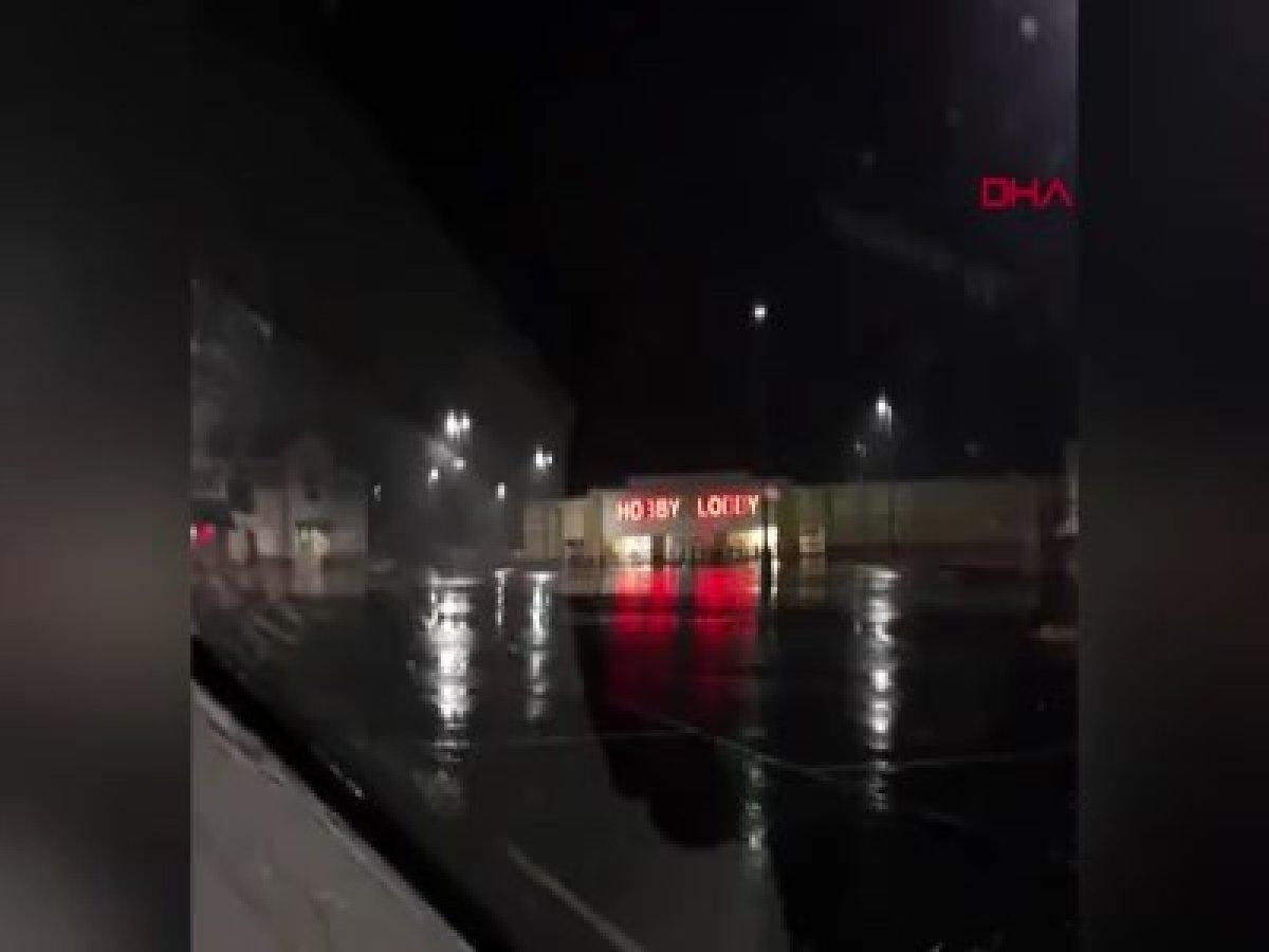 ABD'deyi fırtına ve kasırga vurdu: 1 ölü, 30 yaralı #2