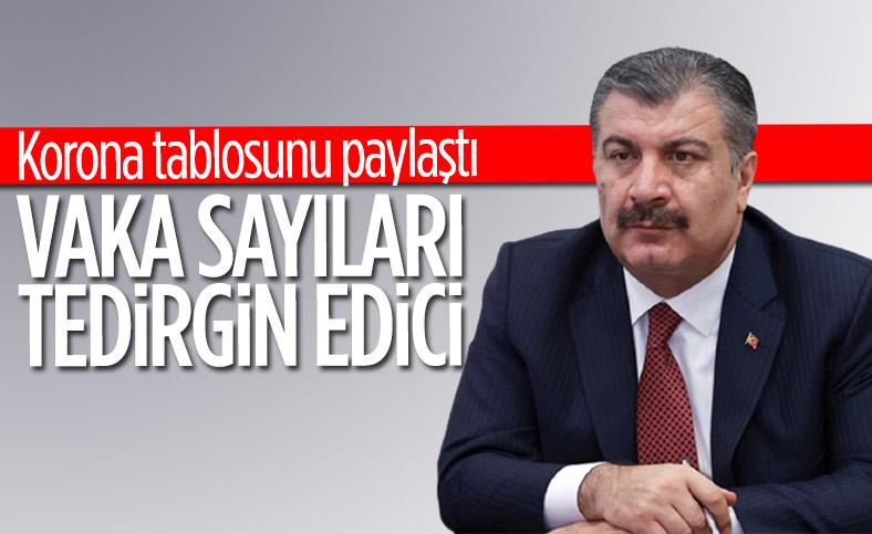 26 Ocak Türkiye'de koronavirüs tablosu