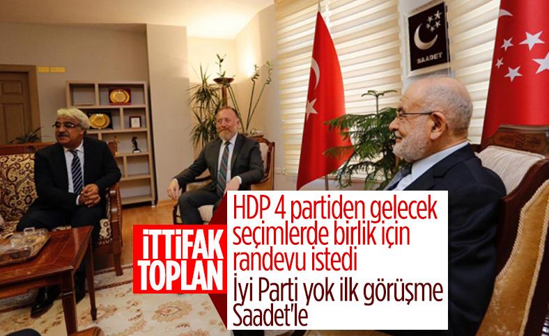 HDP 4 partiden randevu istedi