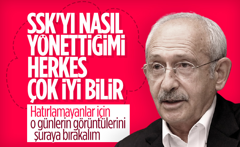 Kemal Kılıçdaroğlu: SGK'yı Gelir İdaresi'ne bağlayacağız