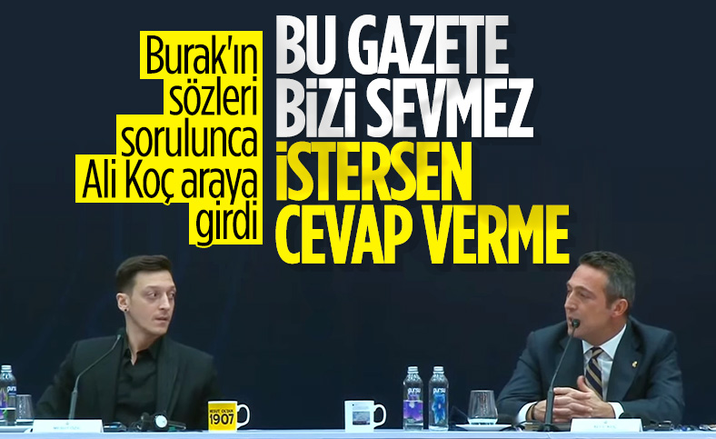 Mesut Özil'den Burak Yılmaz'a cevap