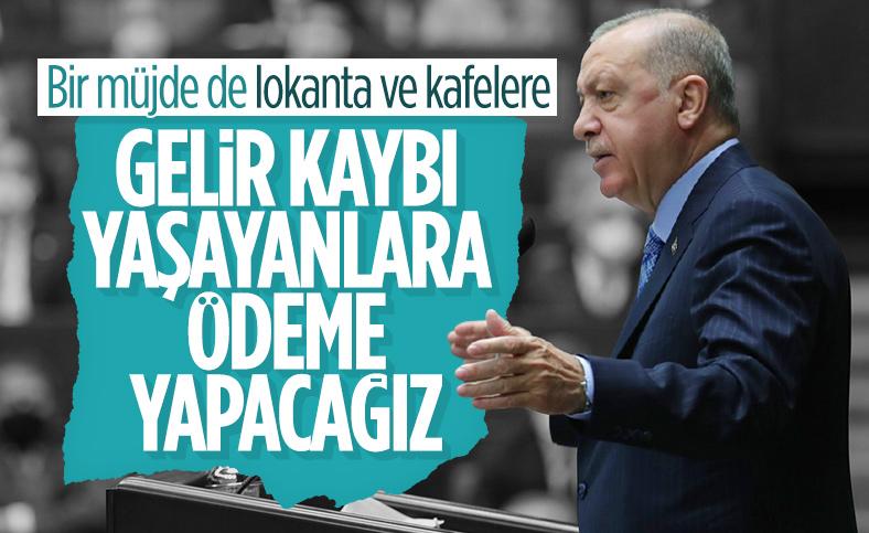 Cumhurbaşkanı Erdoğan'dan lokanta- restoran ve kafelere destek müjdesi