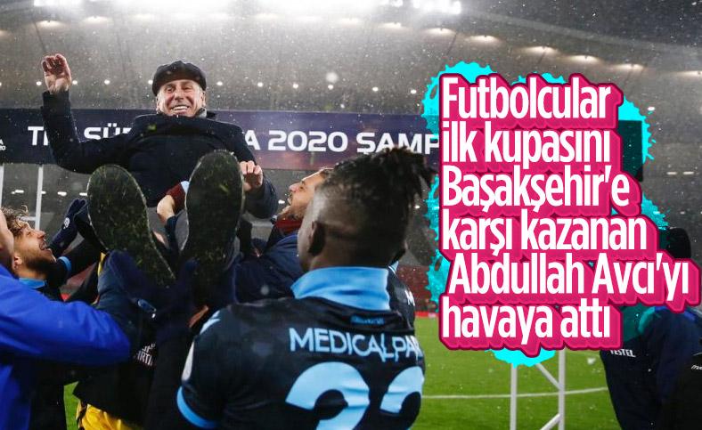 Trabzonspor'da Süper Kupa sevinci