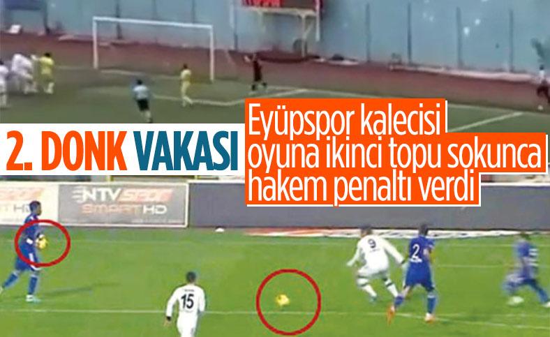 Pazarspor-Eyüpspor maçında verilen ilginç penaltı