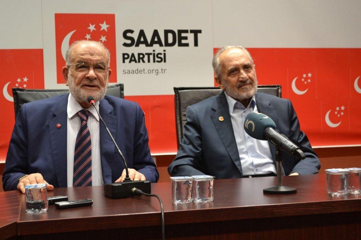 Saadet Partisi nde Temel Karamollaoğlu ile Oğuzhan Asiltürk ayrımı #3