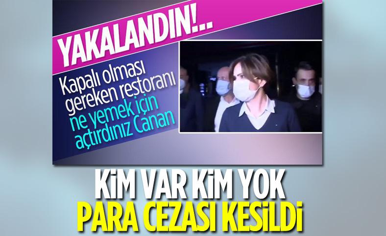 Canan Kaftancıoğlu ve beraberindeki belediye başkanlarına korona cezası