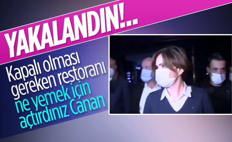 Canan Kaftancıoğlu Nişantaşı'nda mekanda toplantı yaptı