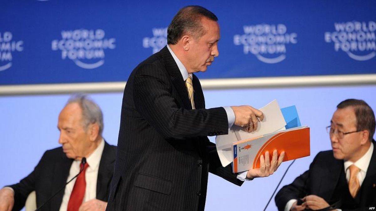 Cumhurbaşkanı Erdoğan ın Davos taki tarihi  One Minute  çıkışı #5
