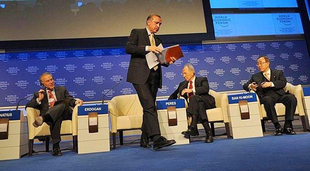 Cumhurbaşkanı Erdoğan ın Davos taki tarihi  One Minute  çıkışı #2
