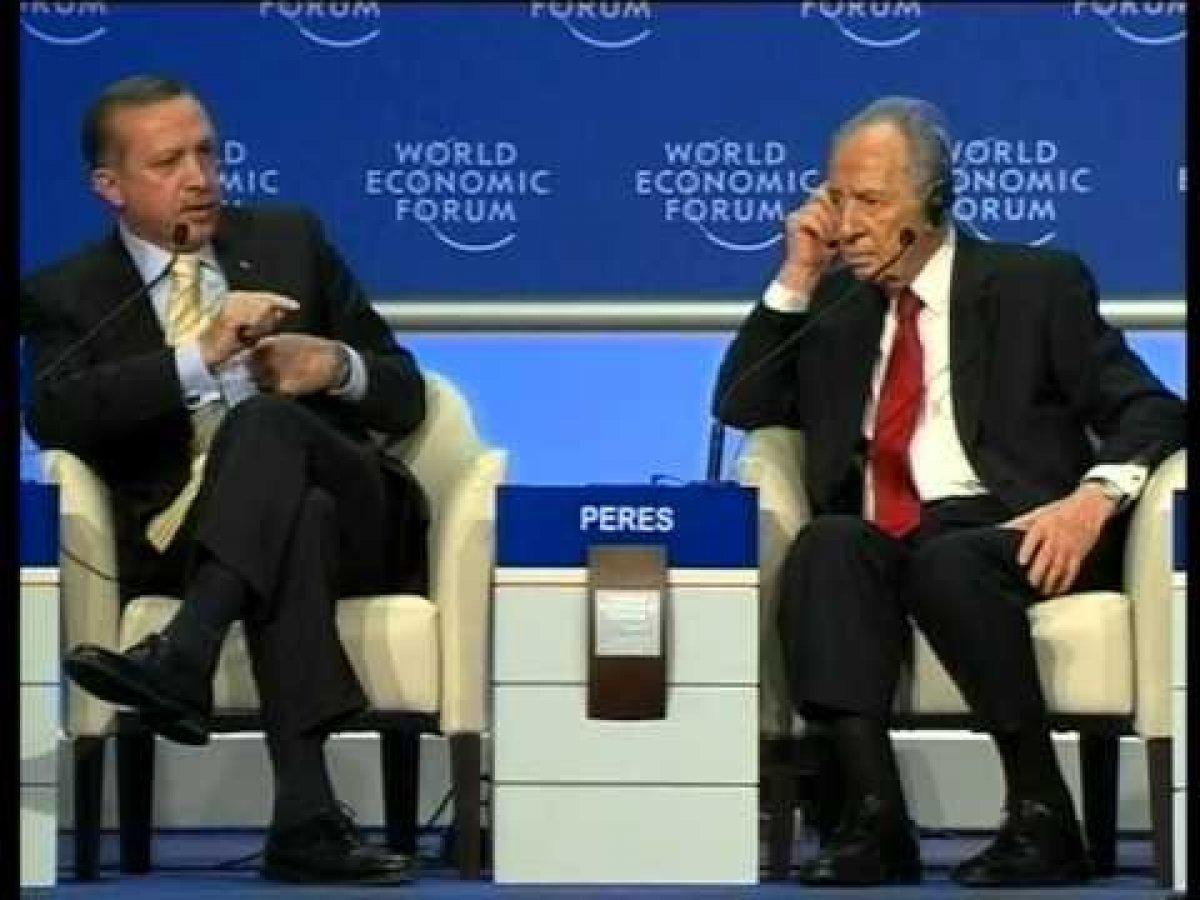 Cumhurbaşkanı Erdoğan ın Davos taki tarihi  One Minute  çıkışı #4