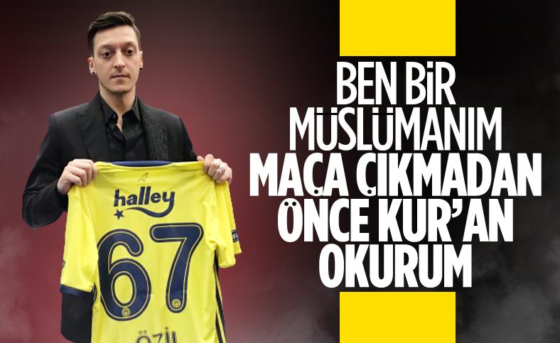 Mesut Özil: Ben bir Müslümanım