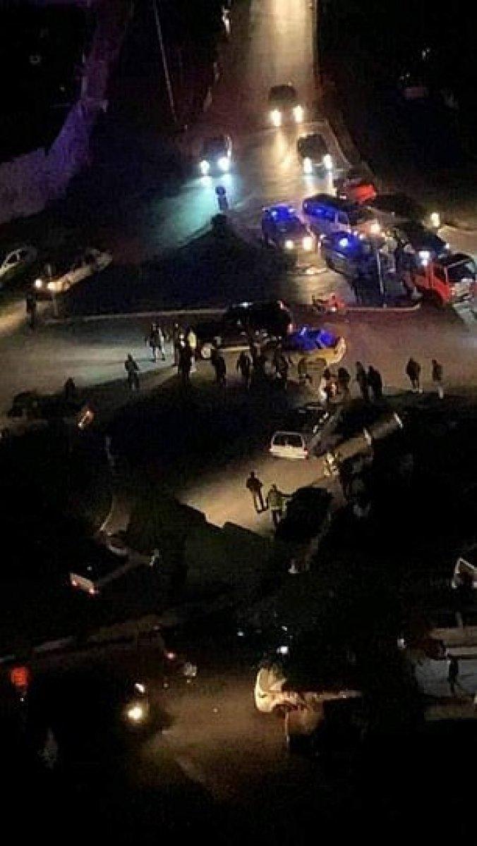 Kaddafi nin gelini Şam ı karıştırdı: Aracıyla polisleri ezip kaçtı #3