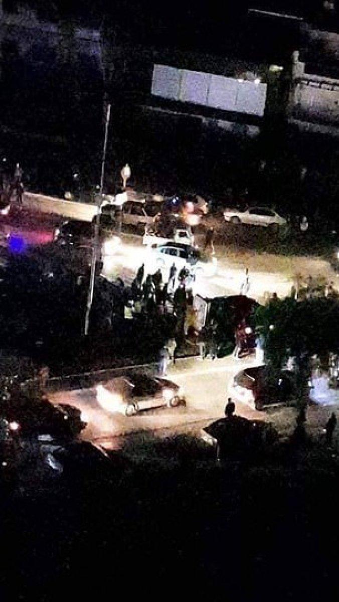 Kaddafi nin gelini Şam ı karıştırdı: Aracıyla polisleri ezip kaçtı #2
