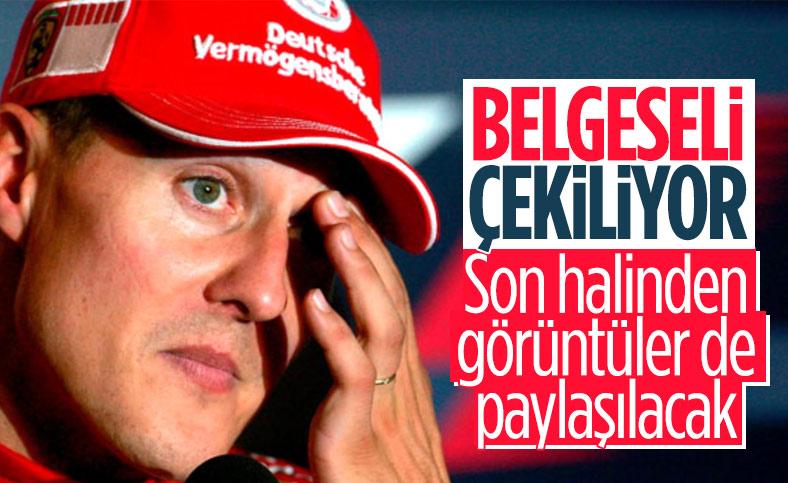 Michael Schumacher'in belgeseli çekiliyor