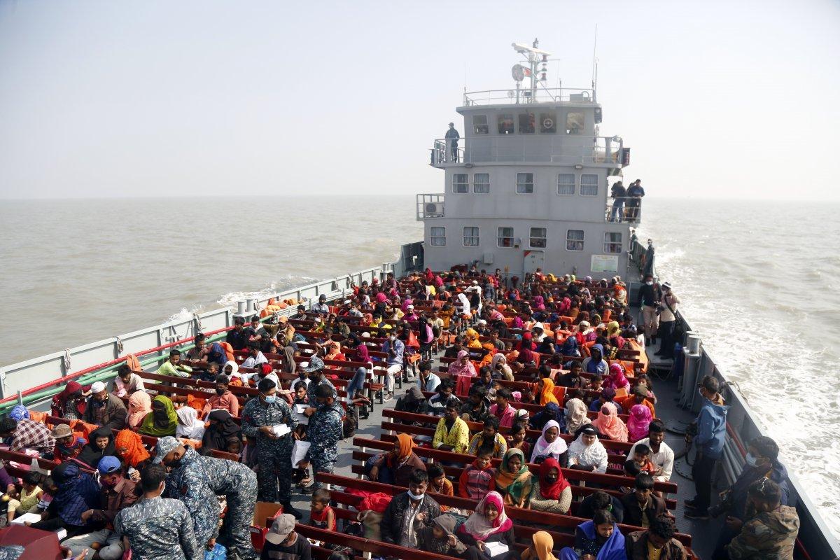 Bangladeş, tepkilere rağmen Arakanlı Müslümanları Bhasan Char Adası na gönderiyor #7
