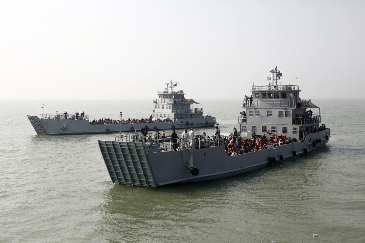 Bangladeş, tepkilere rağmen Arakanlı Müslümanları Bhasan Char Adası na gönderiyor #4