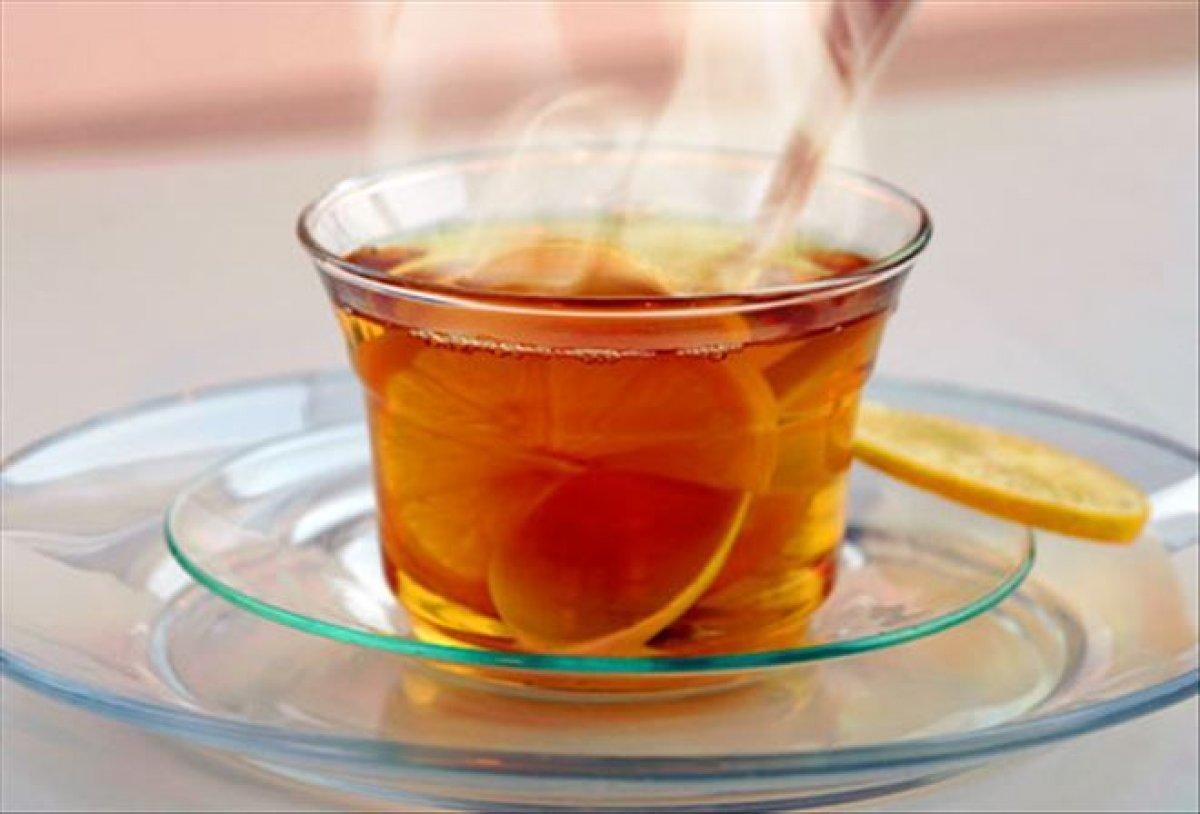 Ömrü uzatmanın en kolay yolu limonlu çay
