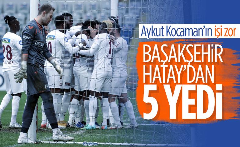 Başakşehir, Hatayspor'dan fark yedi