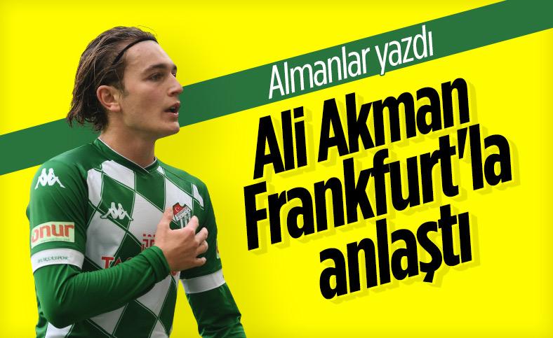 Ali Akman, Eintracht Frankfurt ile görüşüyor
