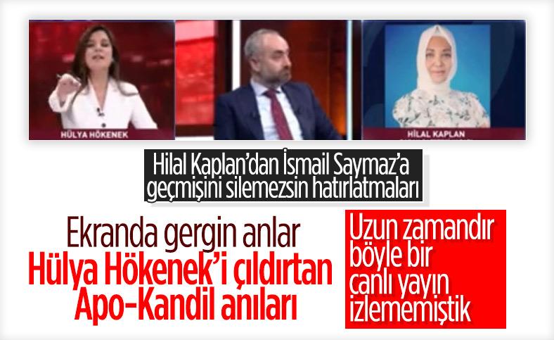 Hilal Kaplan'ın Habertürk hakkındaki sözleri Hülya Hökenek'i kızdırdı