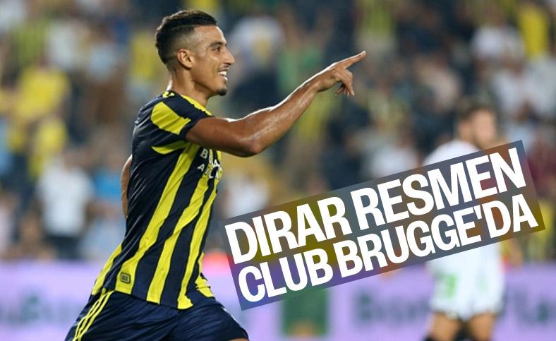 Fenerbahçeli Nabil Dirar, Club Brugge'e transfer oldu
