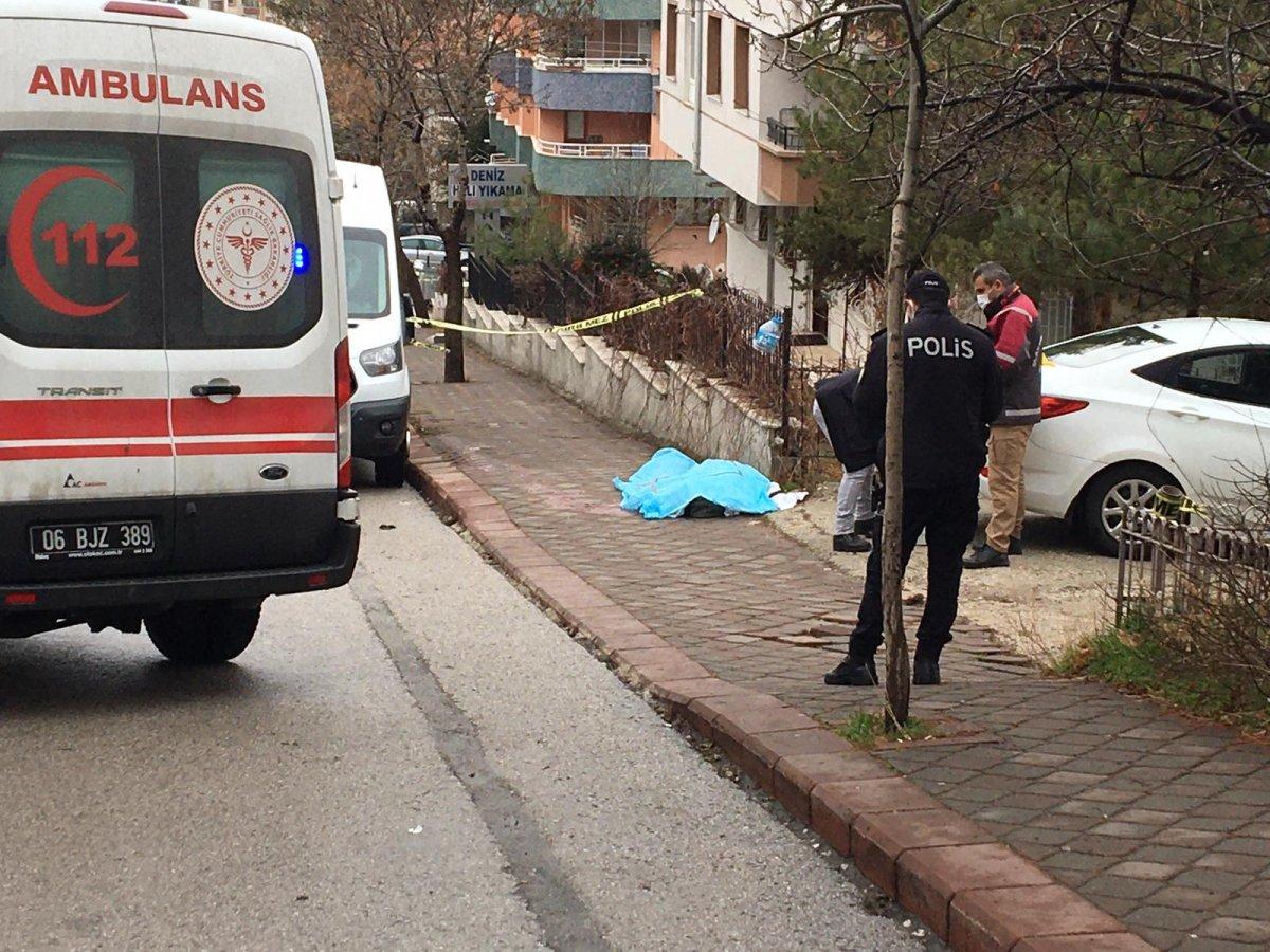 Ankara da tartıştığı arkadaşını öldürdü #1