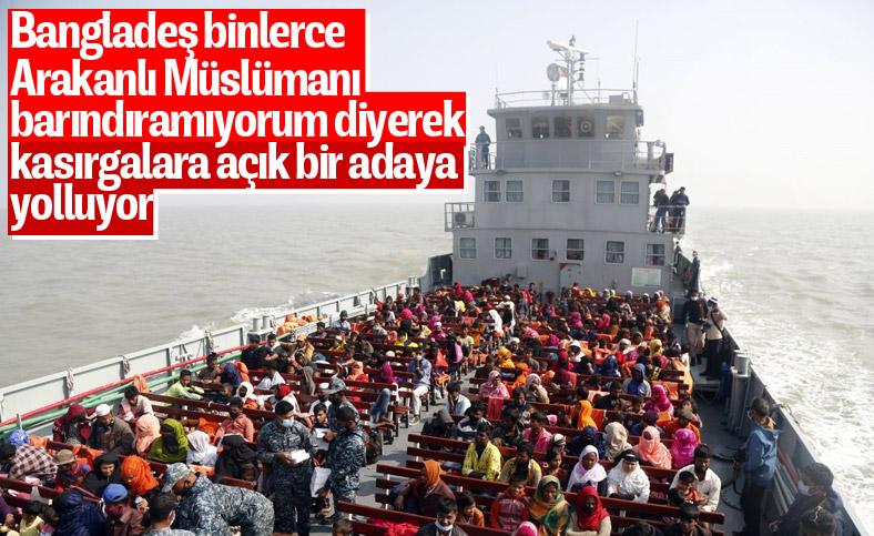 Bangladeş, tepkilere rağmen Arakanlı Müslümanları Bhasan Char Adası'na gönderiyor