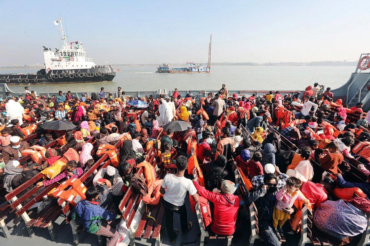Bangladeş, tepkilere rağmen Arakanlı Müslümanları Bhasan Char Adası na gönderiyor #8