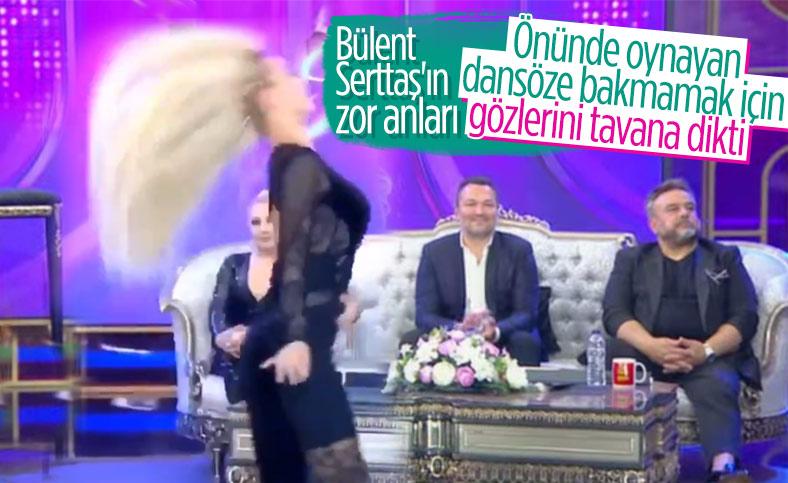 İbo Show'a katılan Bülent Serttaş, oryantali izlemedi