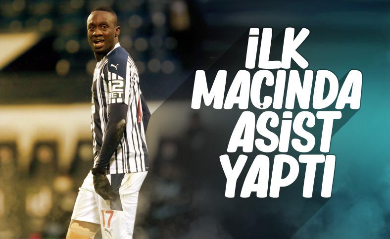 Mbaye Diagne ilk maçında asist yaptı