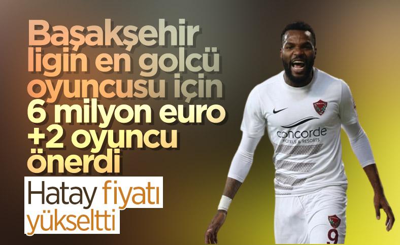 Başakşehir'den Hatayspor'a Boupendza teklifi