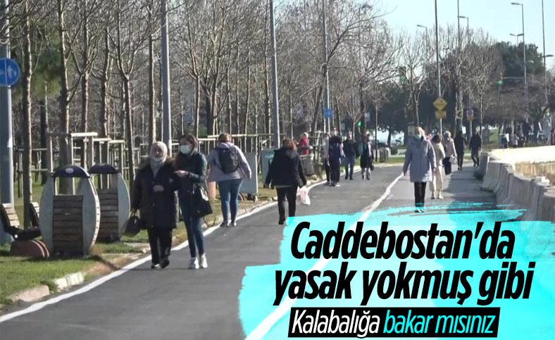 Güneşi gören İstanbullular kısıtlamayı unuttu