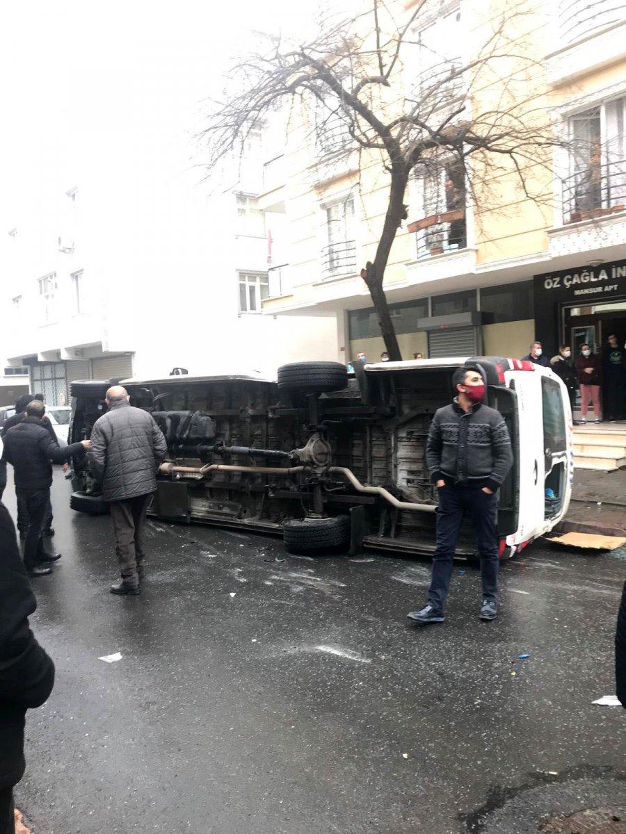 Sancaktepe'de gençlerin ölümden kıl payı kurtuluşu #3