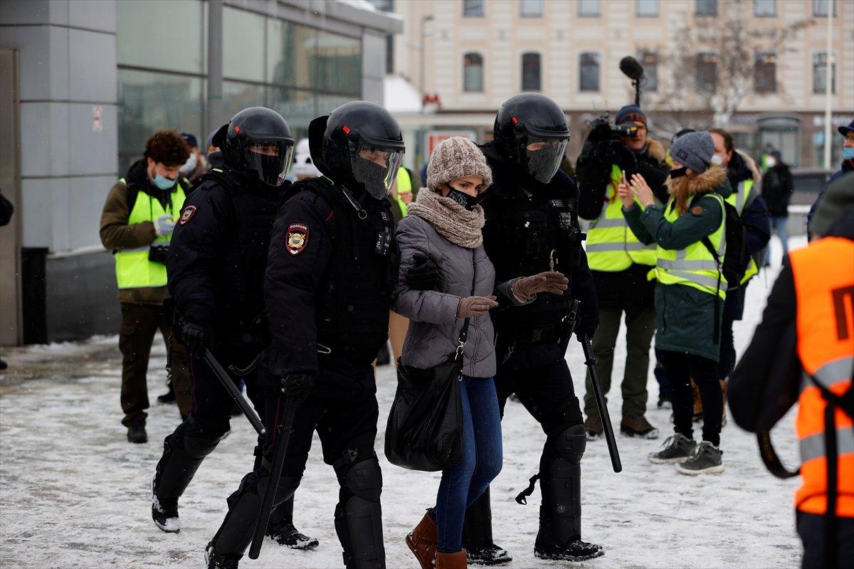 Rusya da  Navalnıy eylemlerine karşı güvenlik önlemleri alındı #1