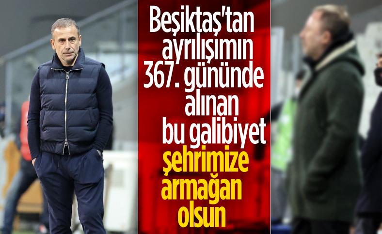 Abdullah Avcı: Galibiyet Trabzon'a armağan olsun