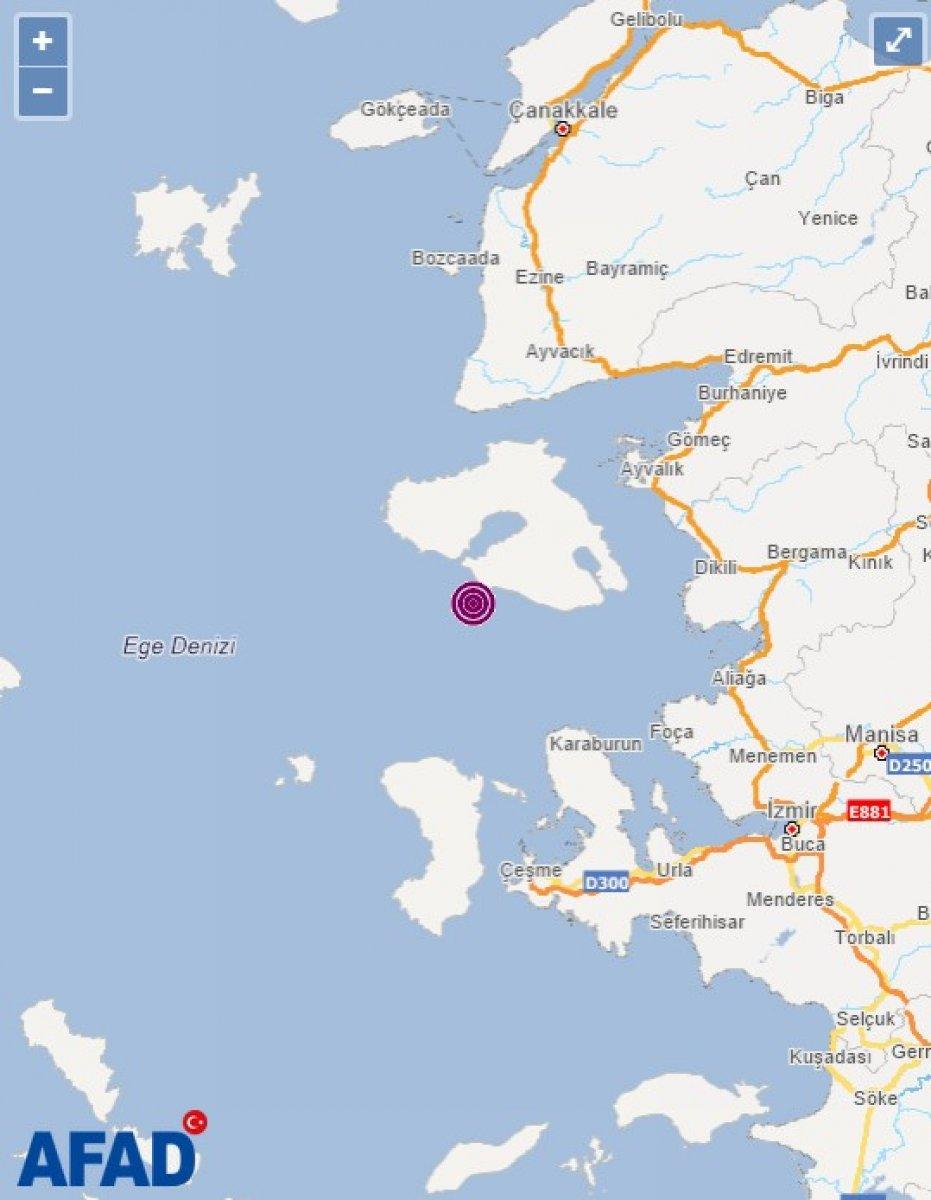 İzmir de 5.1 büyüklüğünde deprem #1