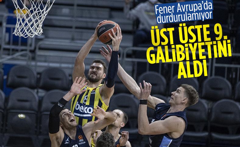 Fenerbahçe Euroleague'de üst üste 9. maçını kazandı
