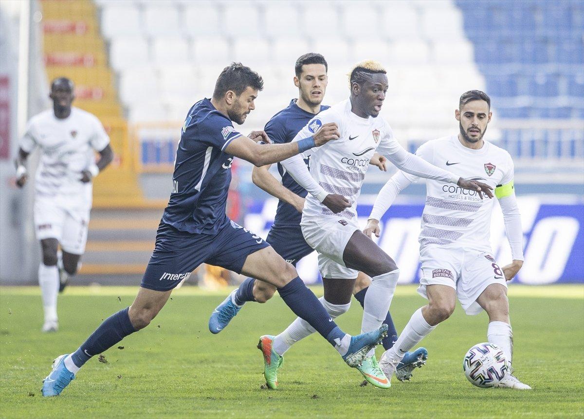 Hatayspor, Kasımpaşa yı deplasmanda 4 golle yendi #1