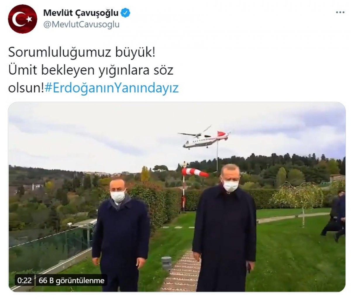 Cumhurbaşkanı Erdoğan a destek tweet leri 2 milyonu aştı #9