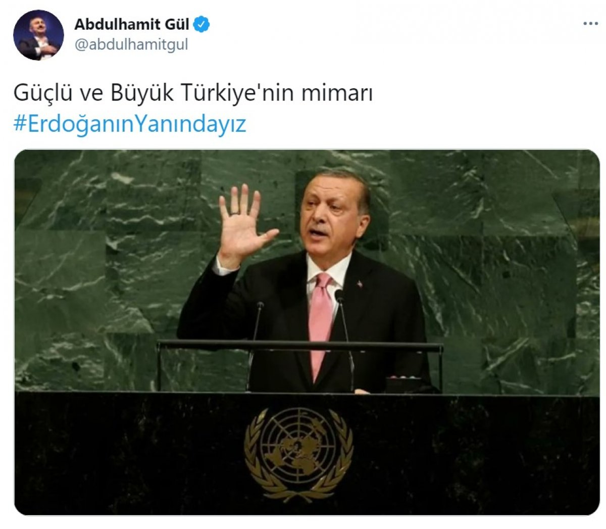 Cumhurbaşkanı Erdoğan a destek tweet leri 2 milyonu aştı #7