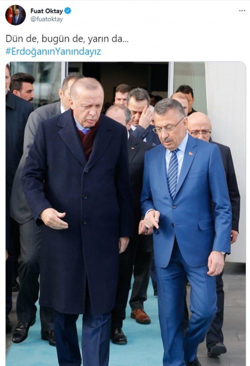 Cumhurbaşkanı Erdoğan a destek tweet leri 2 milyonu aştı #6