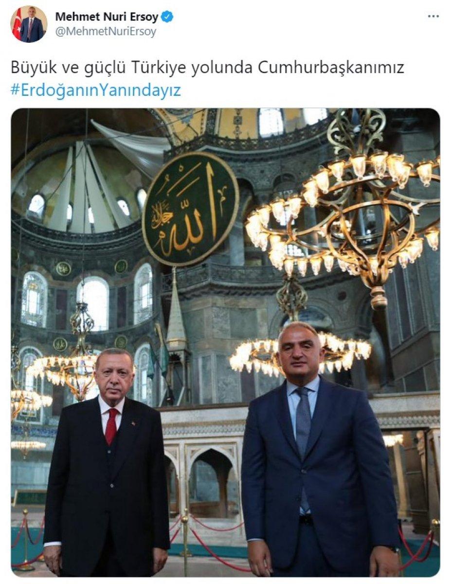 Cumhurbaşkanı Erdoğan a destek tweet leri 2 milyonu aştı #12