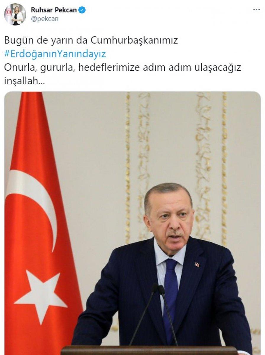 Cumhurbaşkanı Erdoğan a destek tweet leri 2 milyonu aştı #15